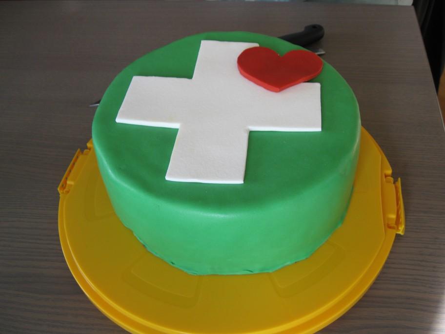 Pflegeteam-Torte